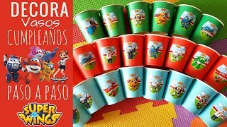 COMO ORGANIZAR UNA FIESTA INFANTIL DE CUMPLEAÑOS SUPER WINGS - SUPER WINGS BIRTHDAY PARTY IDEAS