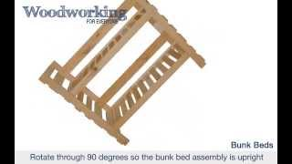 Woodworking For Everyone: Bunk Beds
