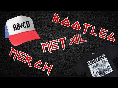 Heavy Metal Bootleg Band Merch