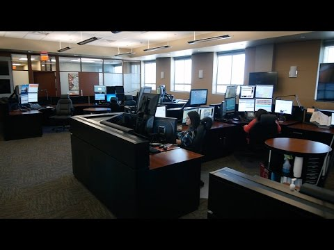 Facility Tour: 911 Call Center & Emergency Operations Center