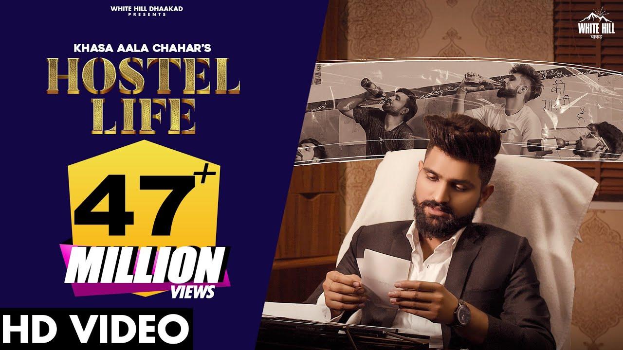Download KHASA AALA CHAHAR : Hostel Life (Full Song)   New Haryanvi Songs Haryanavi 2021   Haryanvi Songs