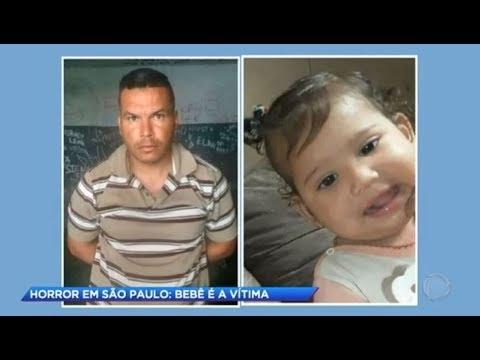 Vizinho é preso por abusar e matar menina de um ano de idade