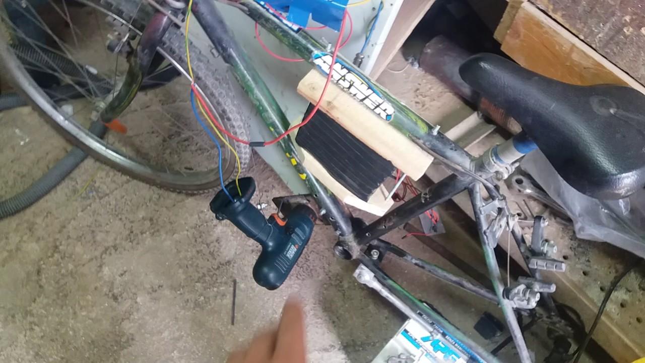Cablaggio elettrico bici elettrica fai da te youtube for Sifone elettrico per acquario fai da te