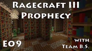 E09 - Ragecraft 3 - Village Library with Team B.S.