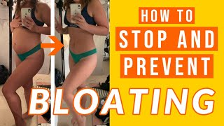 How to reduce bloating! (easy fix)