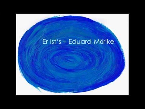 Er ist's - Eduard Mörike