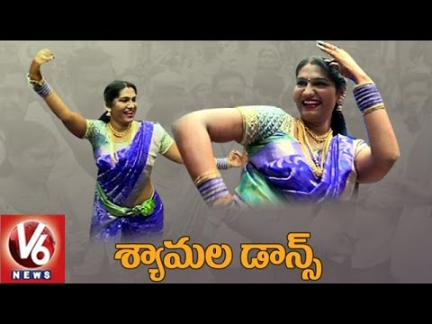 Jogini Shyamala Teenmaar Dance At Lashkar Bonalu | Secunderabad | V6 News