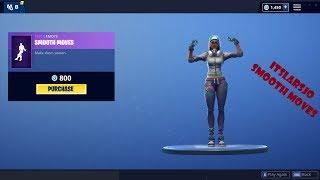 Smooth Moves Fortnite emote - Teknique skin