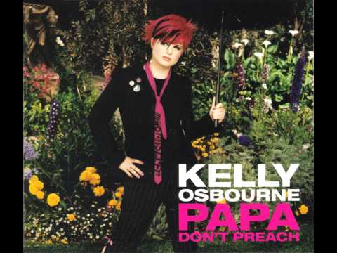 Kelly Osbourne - Papa Don't Preach (Karaoke / Instrumental Version)
