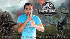Jurassic World: Das gefallene Königreich   Blu-ray Neuheit   Review   Italien Steelbook   Unboxing