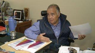 Así hablaba Castillo a Télam en un informe sobre su negocio textil
