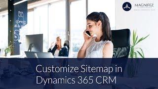 Customize Sitemap in Dynamics 365 CRM V9.0    Using Sitemap designer