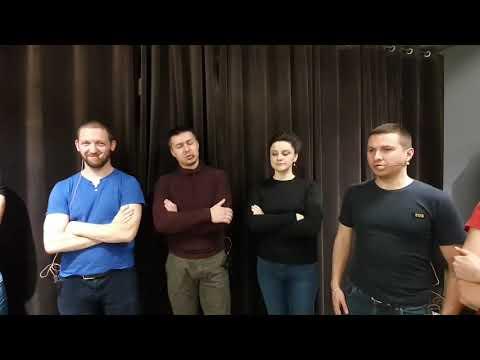 Репетиция Московского Казачьего Хора