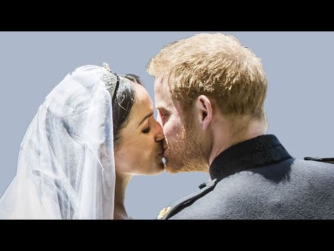 Prince Harry and Meghan Markles most amazing kissing moments at the Wedding