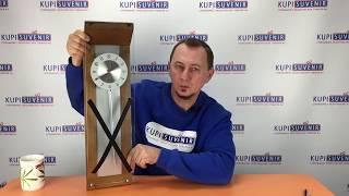 Видеообзор часов настенных с маятником «Маятник»