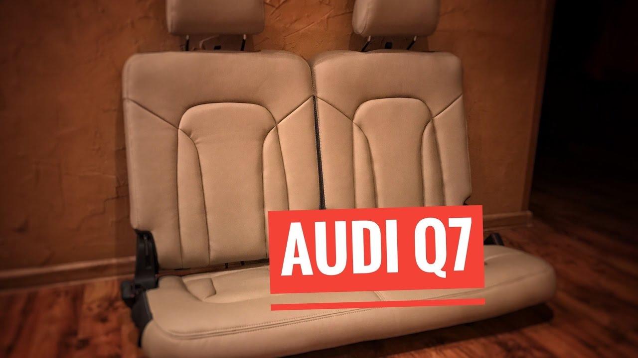 Перетяжка салона Audi Q7