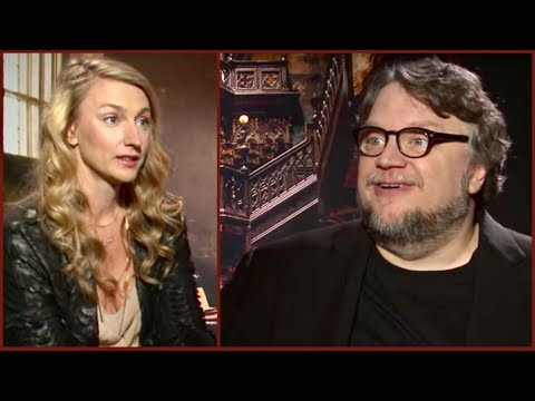 What happened when Guillermo del Toro met a real GHOST and heard a murder (Crimson Peak)