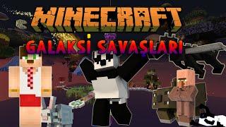GALAKSİ SAVAŞLARI! - Minecraft Yumurta Savaşları! (Türkçe Minecraft Egg Wars) w/ Minecraft Evi
