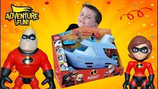 """Disney Incredibles 2 """"Hydroliner Playset"""" Boat Adventure Fun Toy Review!"""