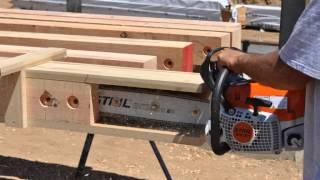 Knife Plate Slotter For Timber Framing