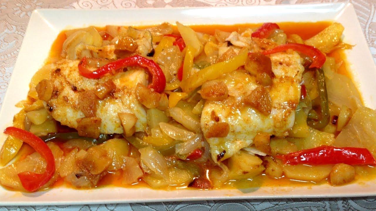 Bacalao Al Horno Recetas De Cocina