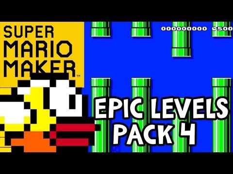 FLAPPY BIRD MARIO!! Super Mario Maker...