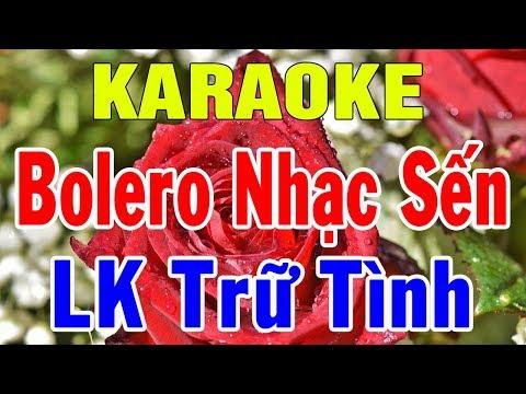 karaoke Nhạc Sống Trữ Tình Bolero Hòa Tấu  Liên Khúc Rumba Nhạc Sến  Trọng Hiếu