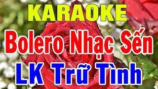 karaoke Nhạc Sống Trữ Tình Bolero Hòa Tấu | Liên Khúc Rumba Nhạc Sến | Trọng Hiếu