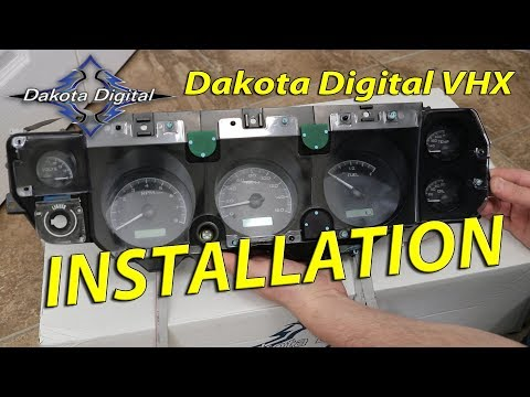 Dakota Digital VHX Dash Installation - 1971 Chevelle SS