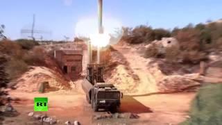 Береговой ракетный комплекс «Бастион» в действии: удар по позициям террористов в Сирии(Минобороны России опубликовало видео пуска ракет «Бастион» по позициям боевиков в Сирии. Подписывайтесь..., 2016-11-15T14:34:25.000Z)