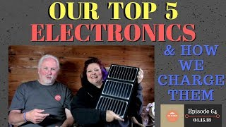 S1.E64-Top 5 Electronics & Charging Solutions for Nomads