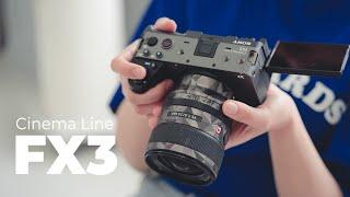 1인 촬영자들의 축복 카메라, 소니 FX3 리뷰