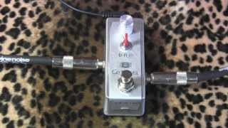 SVI Sound GE BOOST germanium booster pedal demo with SG & Dr Z Antidote