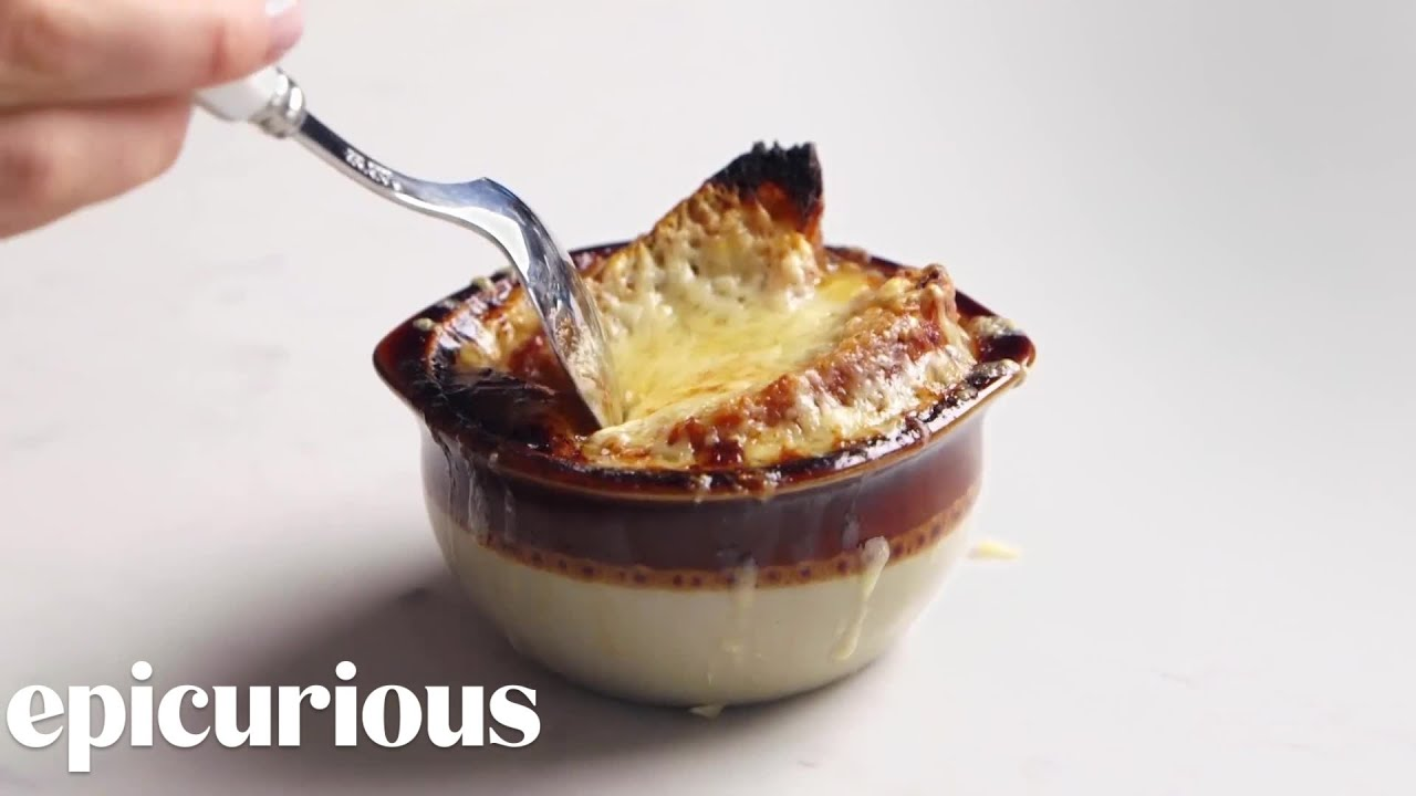 How To Make The Best French Onion Soup Epicurious Youtube
