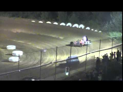 Crowley's Ridge Raceway 8/23/14 #21 Chris Sims Street Stock Heat Race