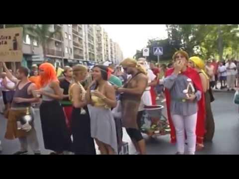 Disfraces Peñas Fiestas Puerto Sagunto 2015