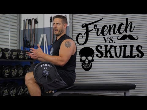 EZ French Press VS Skull Crushers (the Difference)