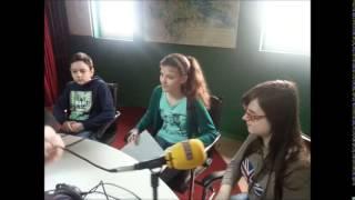 Radio Quirinus - Vrtuljak izvrsnosti 2.4.2015. - Gostovanje učenika OŠ Josipa Kozarca, Lipovljani