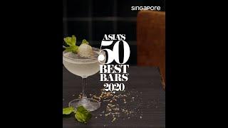 Asia's 50 Best Bars — Singapore