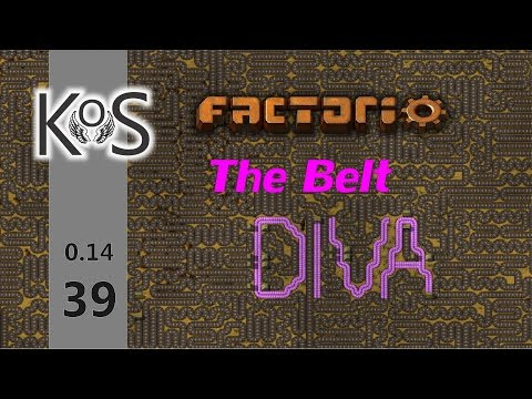 Factorio 0.14 The Belt Diva!  Ep 39: Constructing the Massive Ore Train Station! | Let's Play