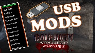 HOW TO MOD CALL OD DUTY WORLD AT WAR ZOMBIES XBOX 360!(2017)
