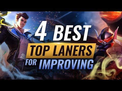 4 Champions You MUST LEARN To Improve As Top Lane - League Of Legends Season 9