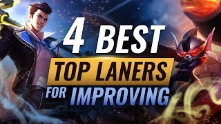 4 Champions You Must Learn To Improve As Top Lane League Of Legends Season 9 Youtube