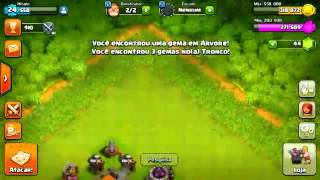 Clash of clans#1 meu deus so farmando