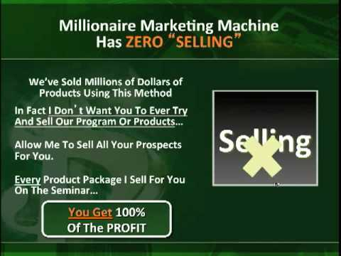 millionaire marketing machine
