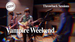 Vampire Weekend - Full Performance - Live on KCRW, 2010