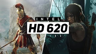 Intel HD 620 Gaming Performance 2018/2019 - All New Games!