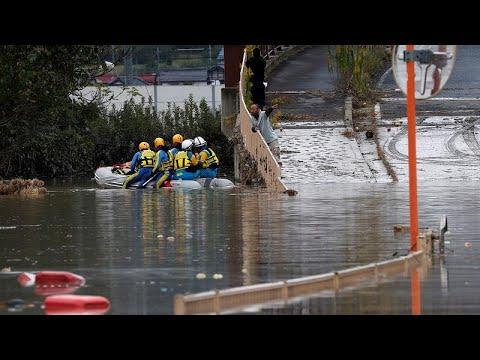 Tufão Hagibis mata dezenas de pessoas no Japão