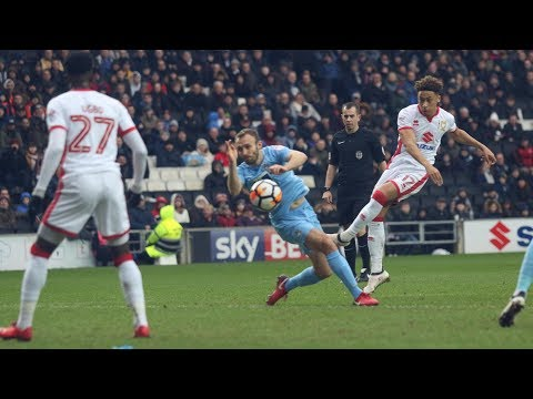HIGHLIGHTS: MK Dons 0-1 Coventry City