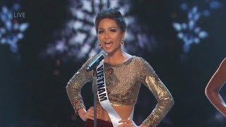 Chung kết Hoa hậu Hoàn vũ 2018: H'Hen Niê dừng bước ở top 5